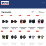 50-60% off all Fitness Gloves @ Madison Sport
