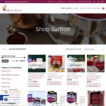 20% off All Saffron Packs - Premium Saffron 1 Gram $6.39 + Free Shipping