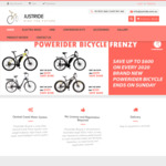 Up to $600 off When You Purchase Any New Powerider Electric Bikes + Free Shipping - Fat Boy E Bike $2299 (Was $2999) @ Just Ride