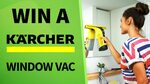 Win 1 of 2 Karcher WV6 Plus Window Vacs Worth $199 from Seven Network