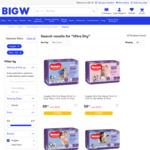 Huggies Ultra Dry Bulk Nappy Pants, Various Sizes $8.50 @ BigW