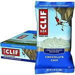 CLIF Bar Chocolate Chip (Sold Out) / Cool Mint 12 x 68g $18 ($16.20 w/ Sub & Save) + Delivery ($0 with Prime/ $39+) @ Amazon AU