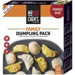 ½ Price Mr Chen's Family Dumpling Pack 625g $8.50, McCain Delish Chips 600g $2 @ Coles