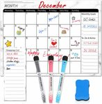 40% off Magnetic Dry Erase Calendar $17.99 + Delivery ($0 with Prime/ $39 Spend) @ Ottertooth Direct via Amazon