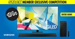 "Win a Samsung Q80T 75"" QLED TV & Soundbar Worth $5,494 from STACK"