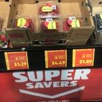 Blueberries Punnet (125g) $1.89 Strawberries Punnet (250g) $1.29 at ALDI