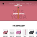 10% off Yoga Mats and Accessories + Free Delivery @ Nibanna