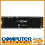 [eBay Plus] Crucial P5 1TB M.2 PCIe NVMe SSD NAND I $215.10 Delivered @ Computer Alliance eBay