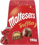 Maltesers Truffles Gift Box 196g $7 ($6.30 S&S) + Delivery ($0 with Prime/ $39 Spend) @ Amazon AU