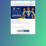 Win a Signed New Zealand Warriors Jersey or Football from TCL
