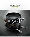 Win 1 of 31 Scanpan CTX Frying Pans from Scanpan