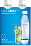 SodaStream 1L Fuse Bottles 2 Pack White $10 (Save $6) @ Big W
