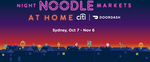 [NSW] $20 off When You Spend $50 at Night Noodle Markets Delivered by DoorDash (Plus Free Delivery if New)
