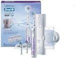 Oral-B Genius 9000 Electric Toothbrush with 3 Replacement Heads & Smart Travel Case, Purple $139 (RRP $369) + Shipping @ Kogan