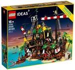 LEGO IDEAS 21322 Pirates of Barracuda Bay - $224.99 (save 25%) @ ShopForMe