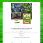 Win a $500 Bunnings Voucher from Verasoil