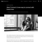 20% off Uber Connect for Valentine's Day @ Uber
