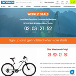 50% off Kids Bikes from $44.50 + Delivery ($0 C&C) @ Decathlon