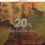 20% off Women's Silver Jewellery Collection + Free Delivery @ Là Mood
