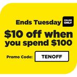 $10 off $100+ Online Spend @ Liquorland