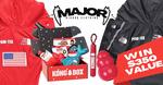 Win a Kong Gift Basket (Value $200) + MAJOR Dog Raincoat (Value $40) from Major Bigdog Clothing