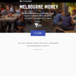[VIC] Melbourne Money Dining Initiative: 20% Rebate with $50-$500 Spend @ City of Melbourne