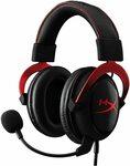 HyperX Cloud II Pro Gaming Headset Red $98.12, Gun Metal $99 Delivered @ Amazon AU