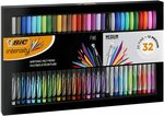 BIC Intensity Fineliners 32 Pack (20 fine + 12 medium) $28.00 (Was $40.00) + Delivery ($0 with Prime/ $39 Spend) @ Amazon AU