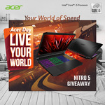 Win an Acer Nitro 5 Gaming Laptop Worth $1,399 from Acer