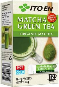 Ito En Organic Matcha Green Tea Powder 12 Pack $13.50 (Was $15) @ Woolworths