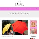 Win 1 of 5 Blunt Metro Umbrella Worth $109 from Label Magazine