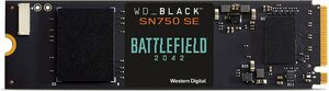 [Pre Order] WD_BLACK 500GB SN750 SE NVMe SSD with Battlefield 2042 Game Code $142.94 + Delivery ($0 w/ Prime) @ Amazon US via AU