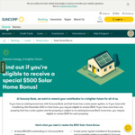 $500 Bonus for Eligible Suncorp Bank Home Loan Customers with Solar Energy System (or Installed by 31/12/2021)