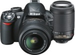 NIKON D3100 14.2MP, DSLR Twin VR Lens Kit Camera @769 after Trade in Any Nikon @ $669 JB HI-FI