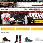 Eastbay 20% off on Orders over $99