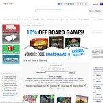 10% off Selected Board Games at OzGameShop.com