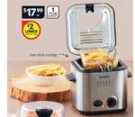 lumina 1 2 l deep fryer at aldi from 29th may 2013. Black Bedroom Furniture Sets. Home Design Ideas