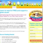 Reading Eggs 5 Weeks Free Trial to New Customers