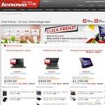 Lenovo 24 Hour Online Mega Sale (Click Frenzy)