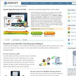 29.95 USD (57% off) on Mac Data Recovery Software at Kvisoft.com