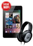 Nexus 7 32GB (2012) + BONUS Sennheiser HD201 Headset $190.50 Delivered @ EB Games