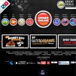 Domino's - Any 3 Pizzas + 3 Sides @ $30 DELIVERED/PICKUP