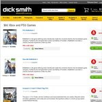 $50 Games at Dick Smith Only ONLINE COD: Ghost, Battlefield 4, AC IV: Black Flags