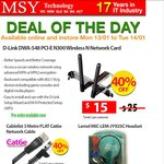 Lemel Headset $1 + 3m Cat6e Network Cable $3 @ MSY