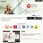 Free Wi-Fi in Japan - Japan Connected Free iOS/Android App