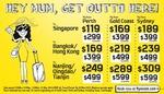 Singapore Return Ex GC $338, Syd $378 & Perth $238 w/ Scoot
