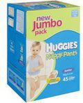 4 Huggies Nappies Jumbo Boxes $98 @ Woolworths - Free Delivery This Weekend or Click and Collect