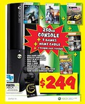 Xbox 360 250GB E Console Bundle (3 Games) $249 (Save $50) @ JB Hi-Fi
