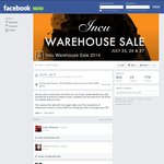 Incu Warehouse Sale - Nothing over $120 (Surry Hills, NSW)