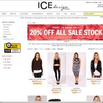 Extra 20% off Sale Stock Fashion and Accessories All under $20 Ends 9am 3 September @ Ice Design